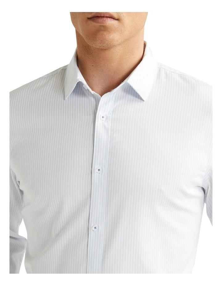 Jonathan Stripe Slim Shirt Light Blue image 3
