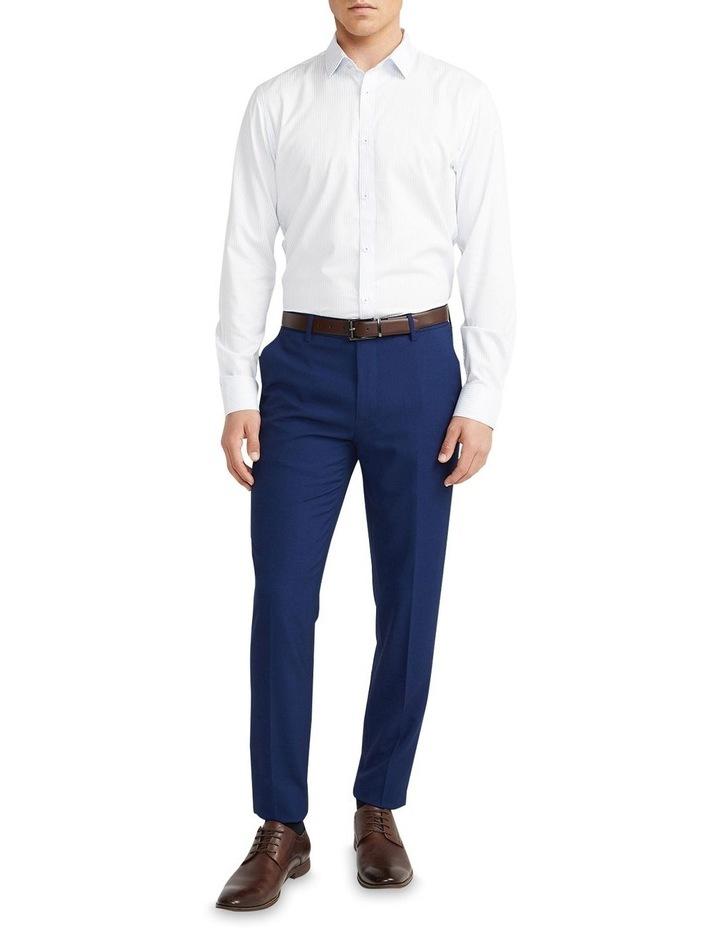 Jonathan Stripe Slim Shirt Light Blue image 5