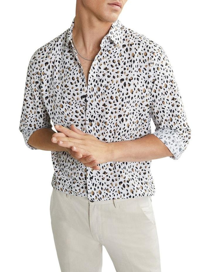 Leo Leopard Shirt Natural image 1