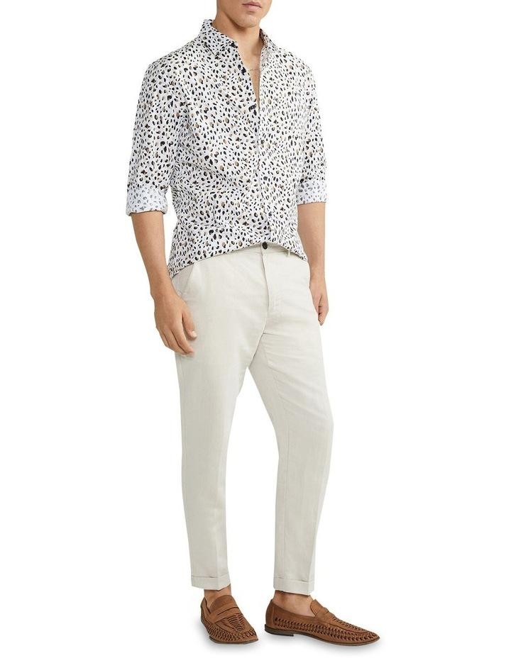 Leo Leopard Shirt Natural image 4