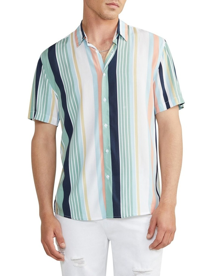 Nevada Stripe Viscose Shirt image 1