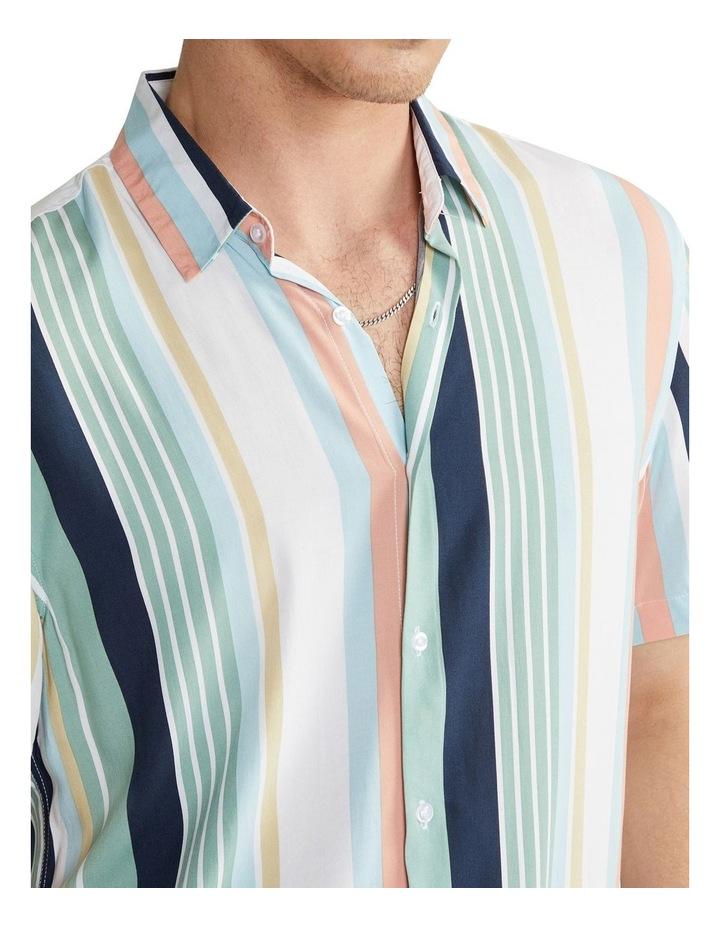 Nevada Stripe Viscose Shirt image 3