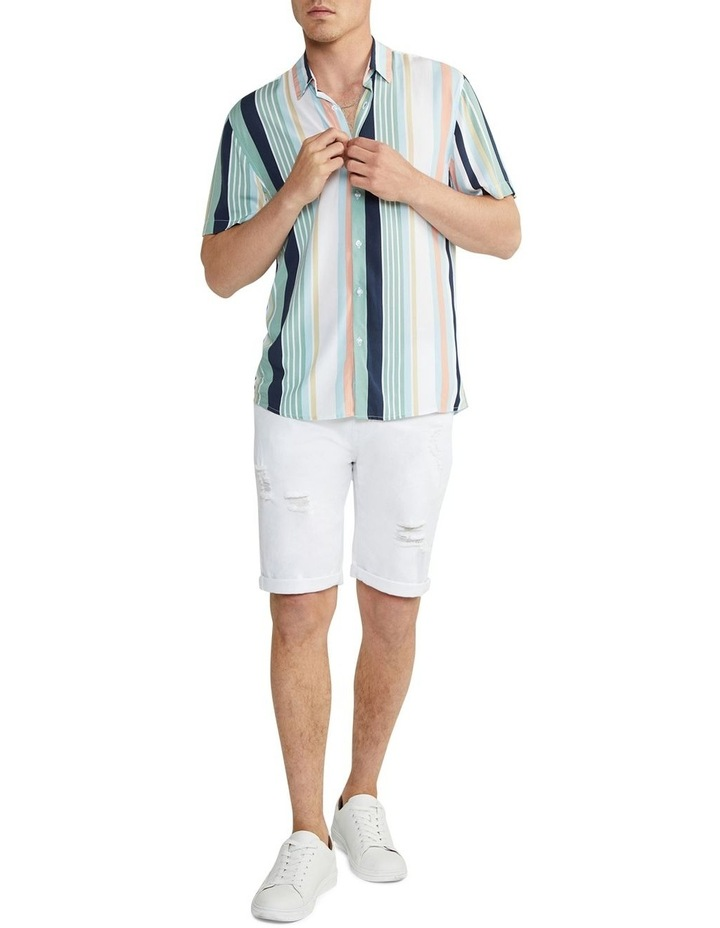 Nevada Stripe Viscose Shirt image 5