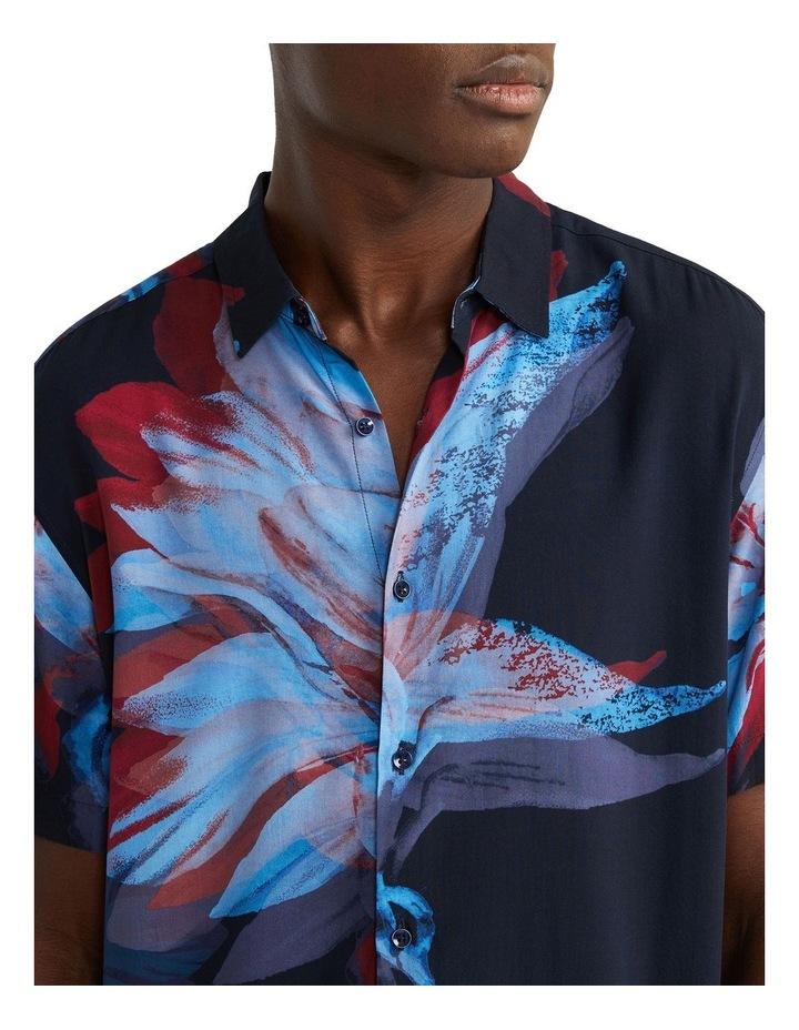 Fuzz Viscose Shirt Navy image 3