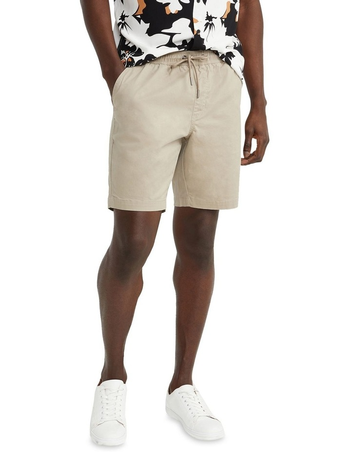 Hemi Relaxed Cotton Short Natural image 1