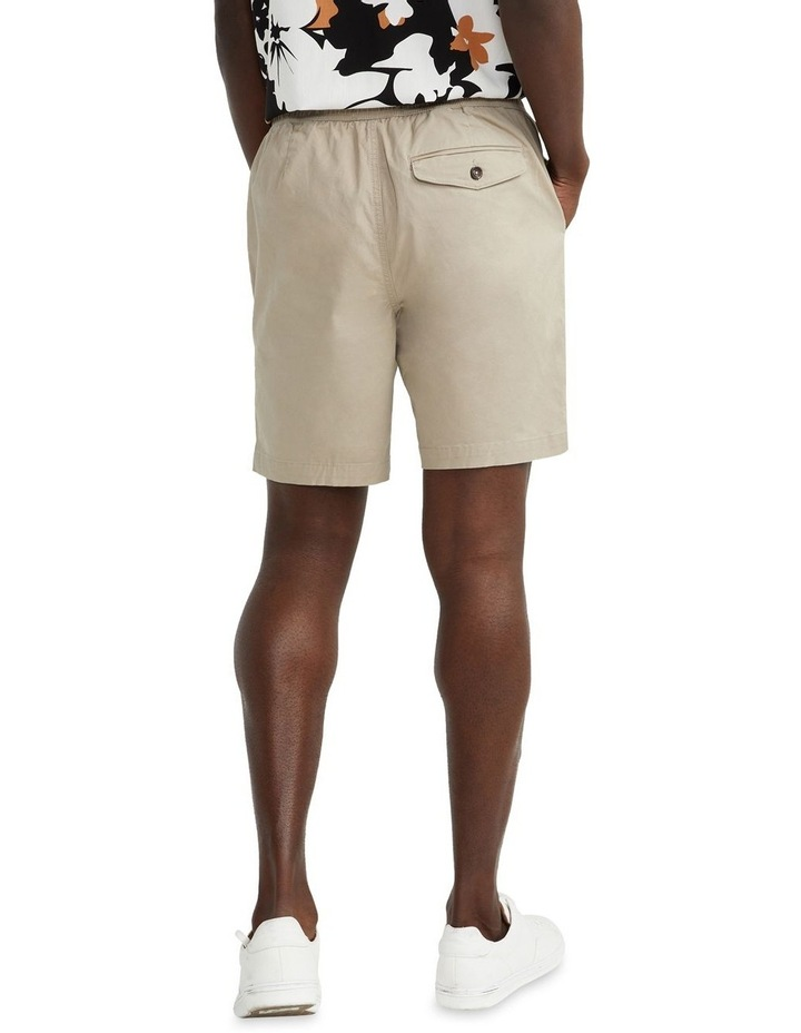 Hemi Relaxed Cotton Short Natural image 2