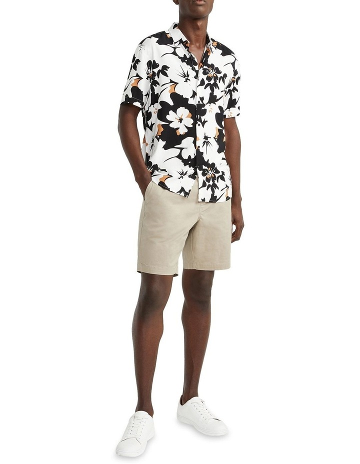 Hemi Relaxed Cotton Short Natural image 5