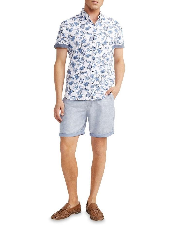 Flawless Textured Print Shirt White image 5