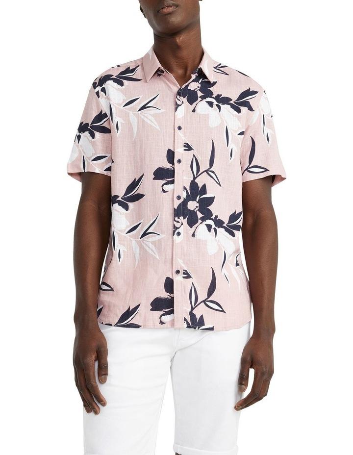 Pico Floral Viscose Blend Shirt Pink image 1