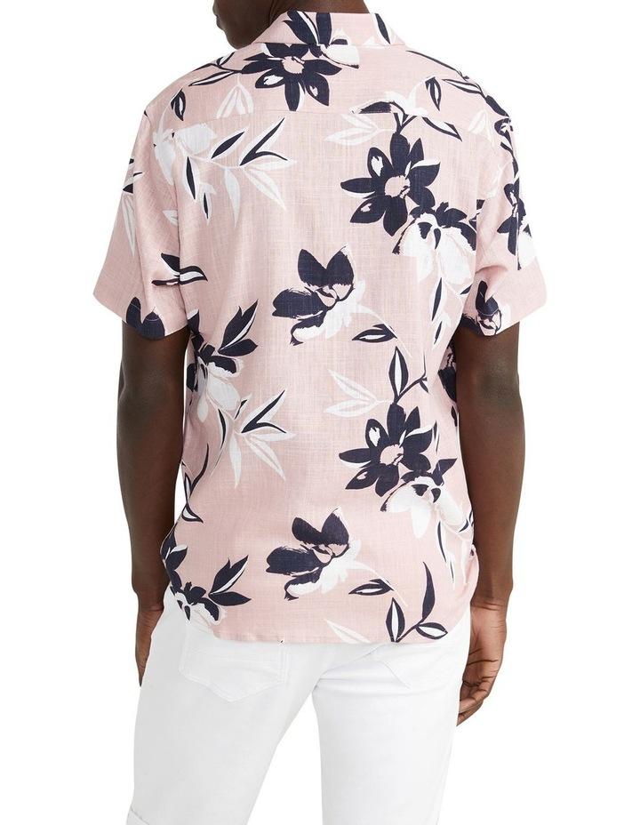 Pico Floral Viscose Blend Shirt Pink image 2