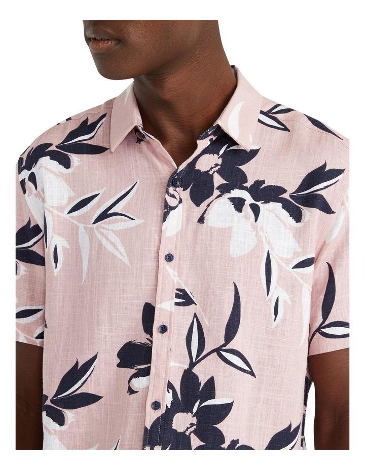 Pico Floral Viscose Blend Shirt Pink image 3