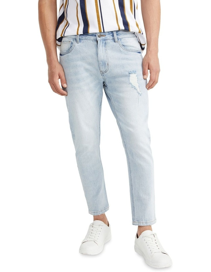 Cave Cropped Skinny Jean Sky Blue image 1