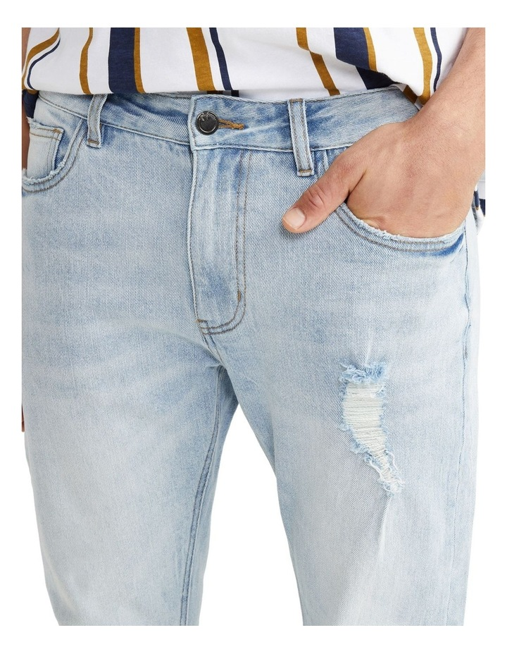 Cave Cropped Skinny Jean Sky Blue image 3