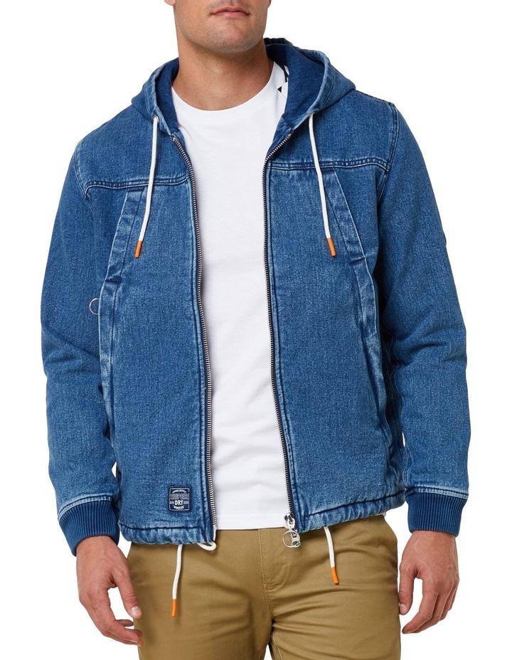 Hooded Worker Jacket image 1