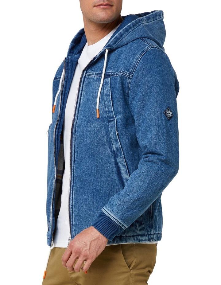 Hooded Worker Jacket image 2