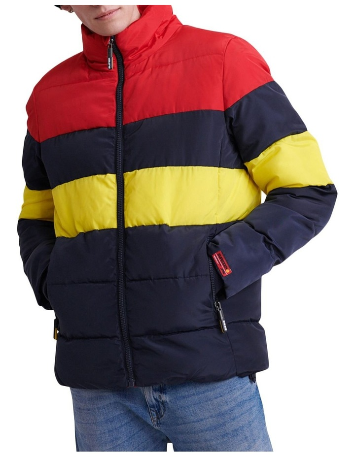 Colour Stripe Sports Puffer image 1