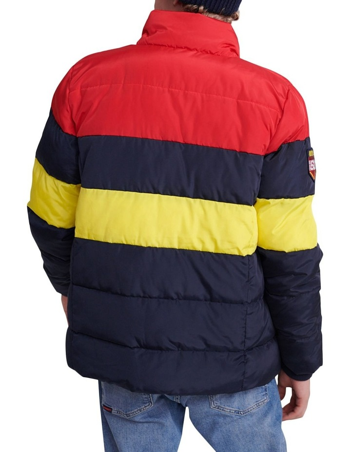 Colour Stripe Sports Puffer image 2