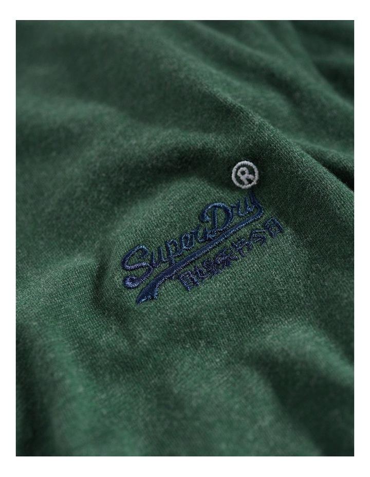 Orange Label Vintage Embroidery Vee Tee image 2
