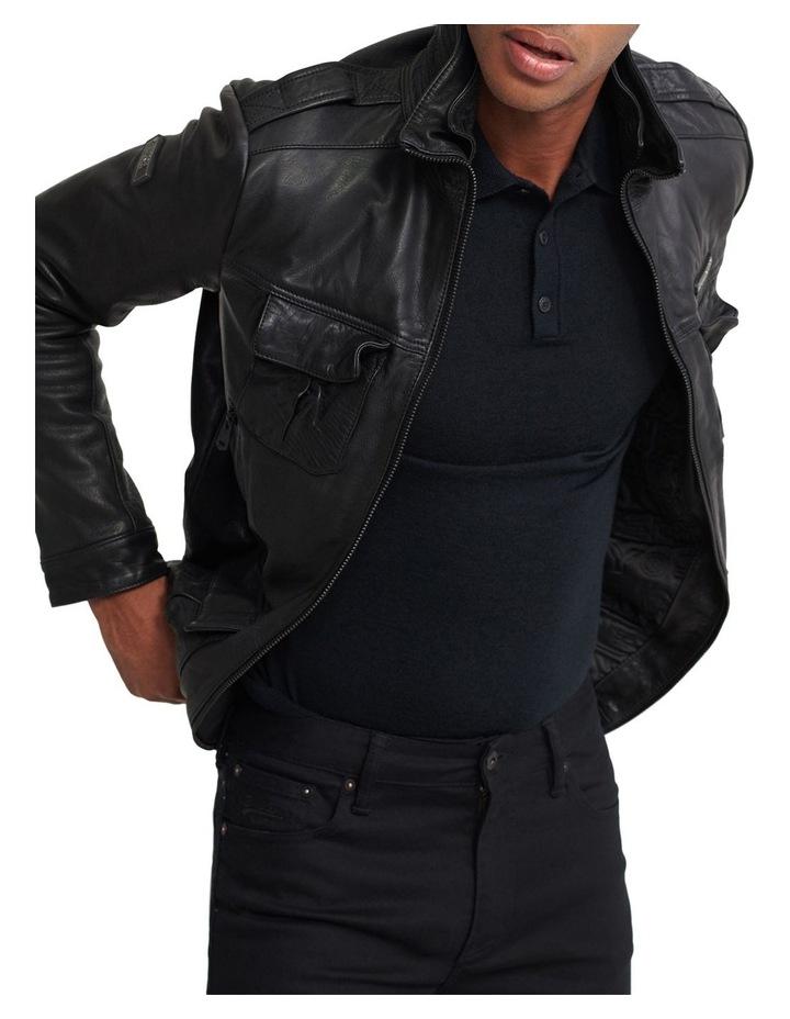 Icon Brad Leather Jacket image 1