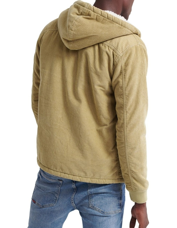 Hooded Worker Jacket image 2