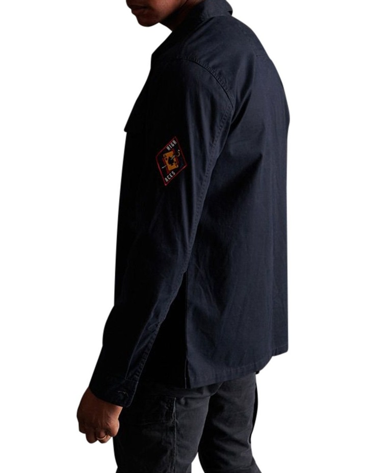 Core Military Patched Long Sleeve Shirt image 3