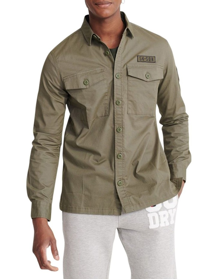 Core Military Patched Long Sleeve Shirt image 1