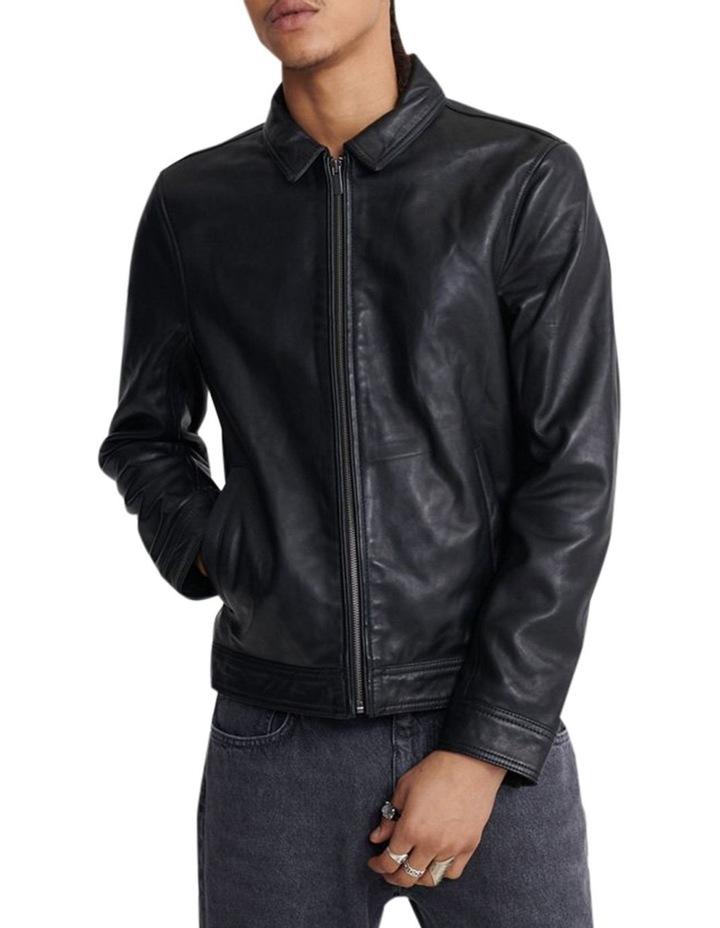 Curtis Light Leather Jacket image 1