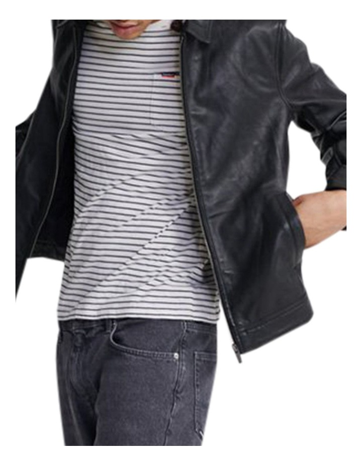 Curtis Light Leather Jacket image 2