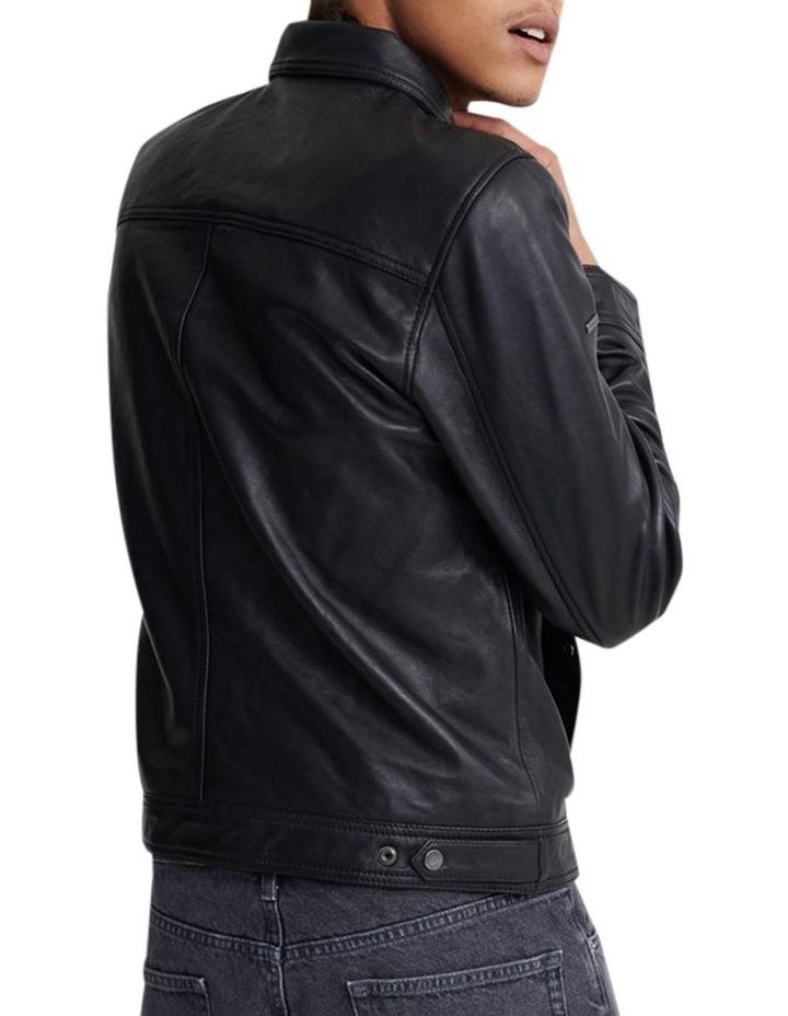 Curtis Light Leather Jacket image 3