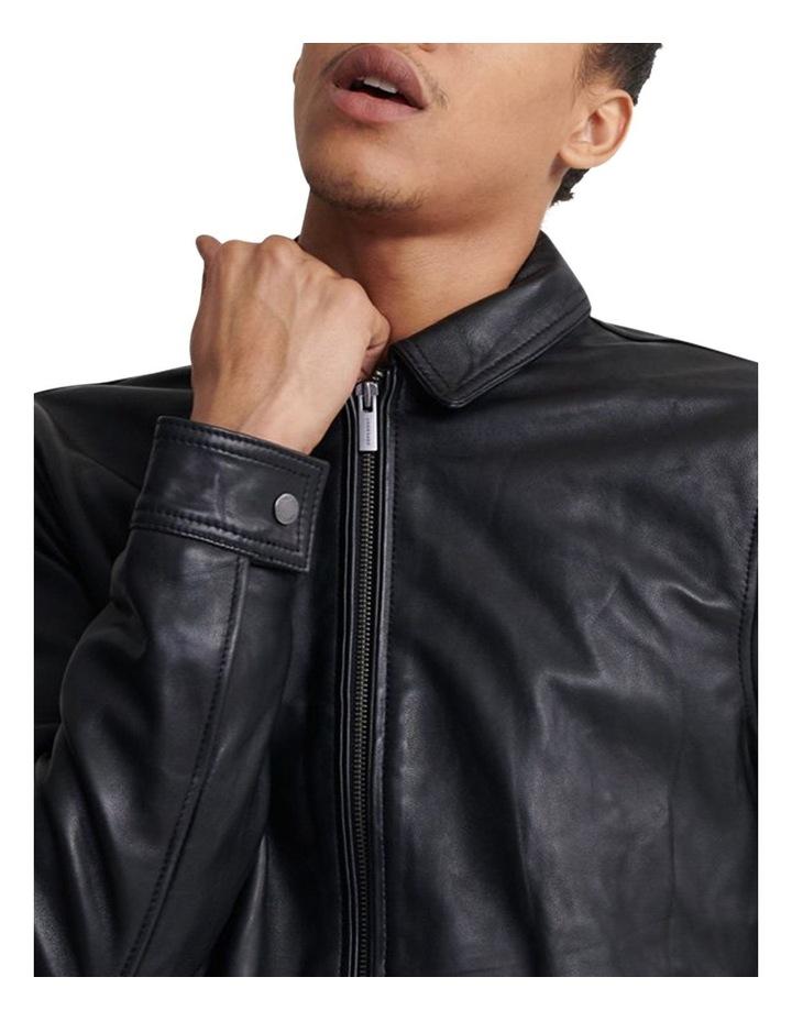 Curtis Light Leather Jacket image 4