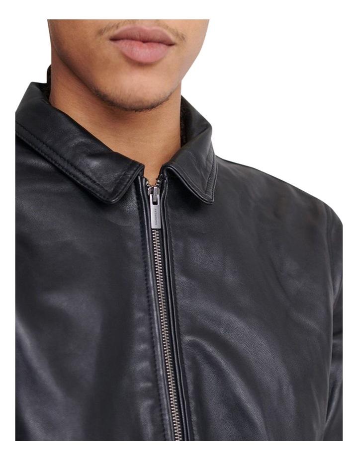 Curtis Light Leather Jacket image 5
