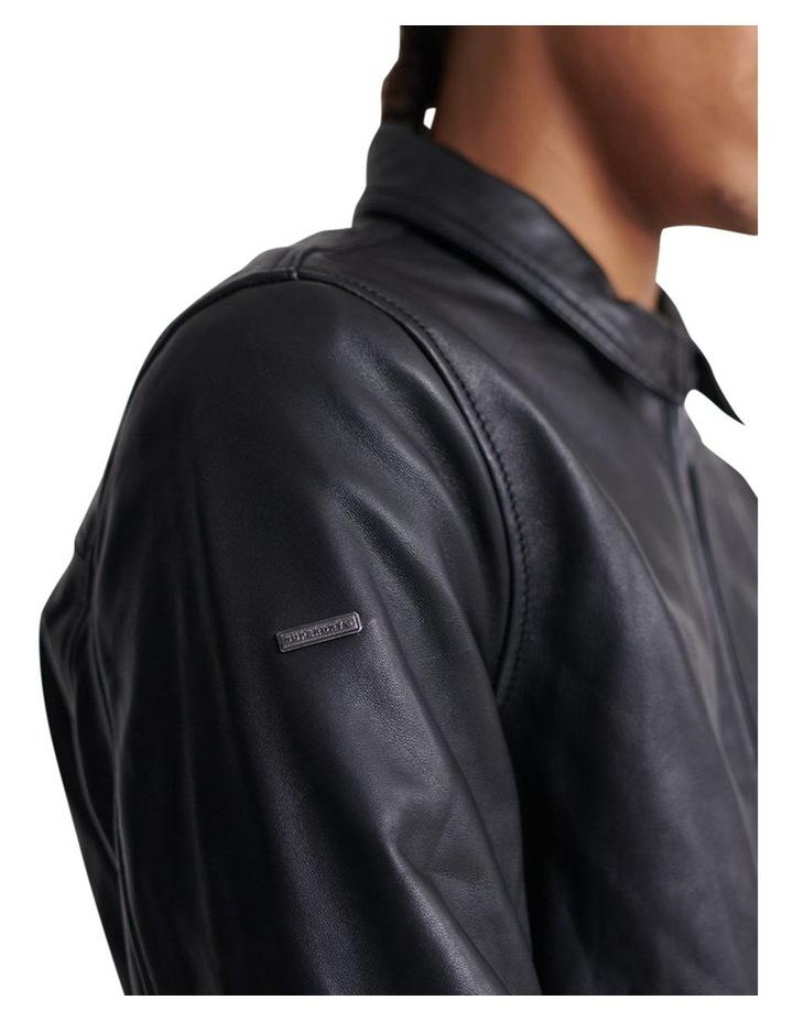 Curtis Light Leather Jacket image 6