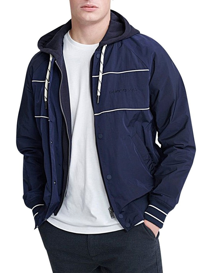 Hooded Summer House Bomber image 1