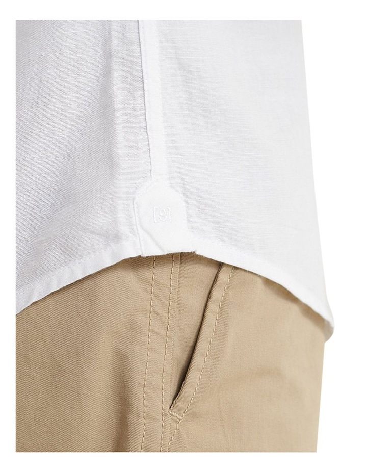 Edit Linen Button Long Sleeve Shirt image 6