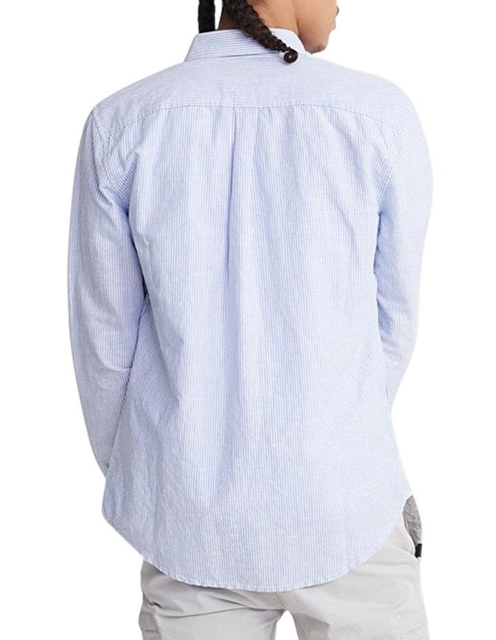 Edit Linen Button Long Sleeve Shirt image 3