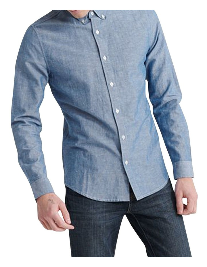 Edit Linen Button Down LS Shirt image 2