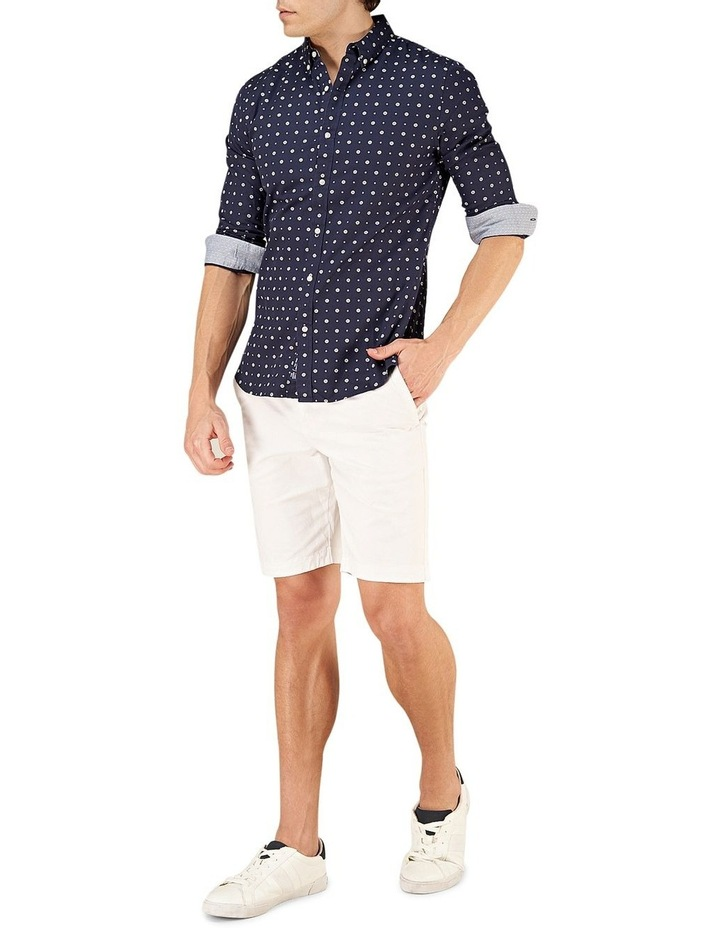 Classic Shoreditch Print Long Sleeve Shirt image 3