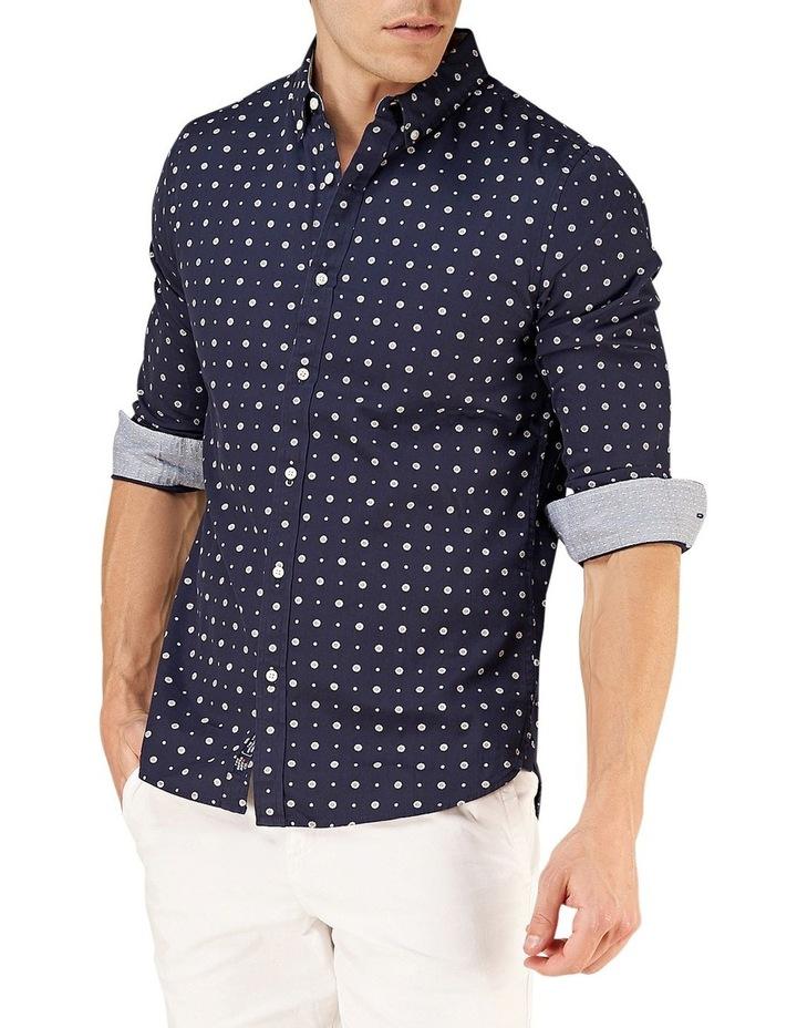 Classic Shoreditch Print Long Sleeve Shirt image 4