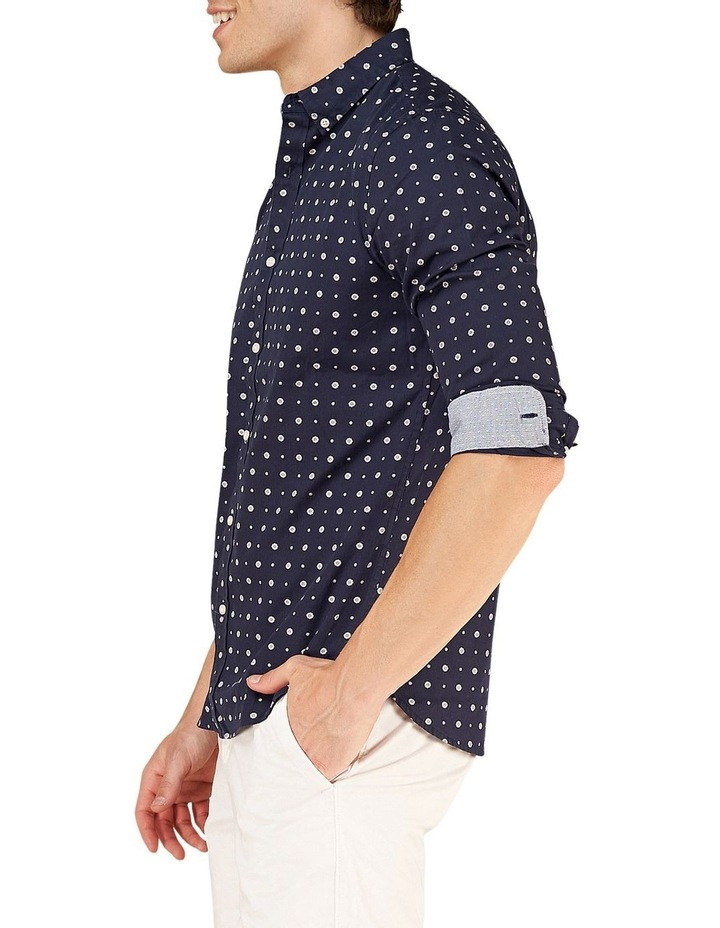 Classic Shoreditch Print Long Sleeve Shirt image 5