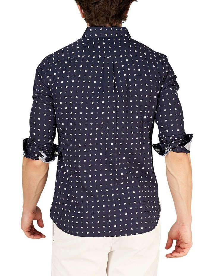 Classic Shoreditch Print Long Sleeve Shirt image 6