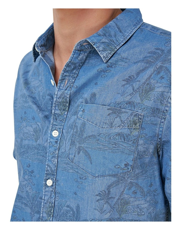 Miami Loom Box Fit Shirt image 4