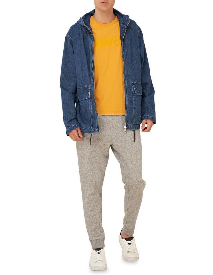 Denim Zip Hood image 1