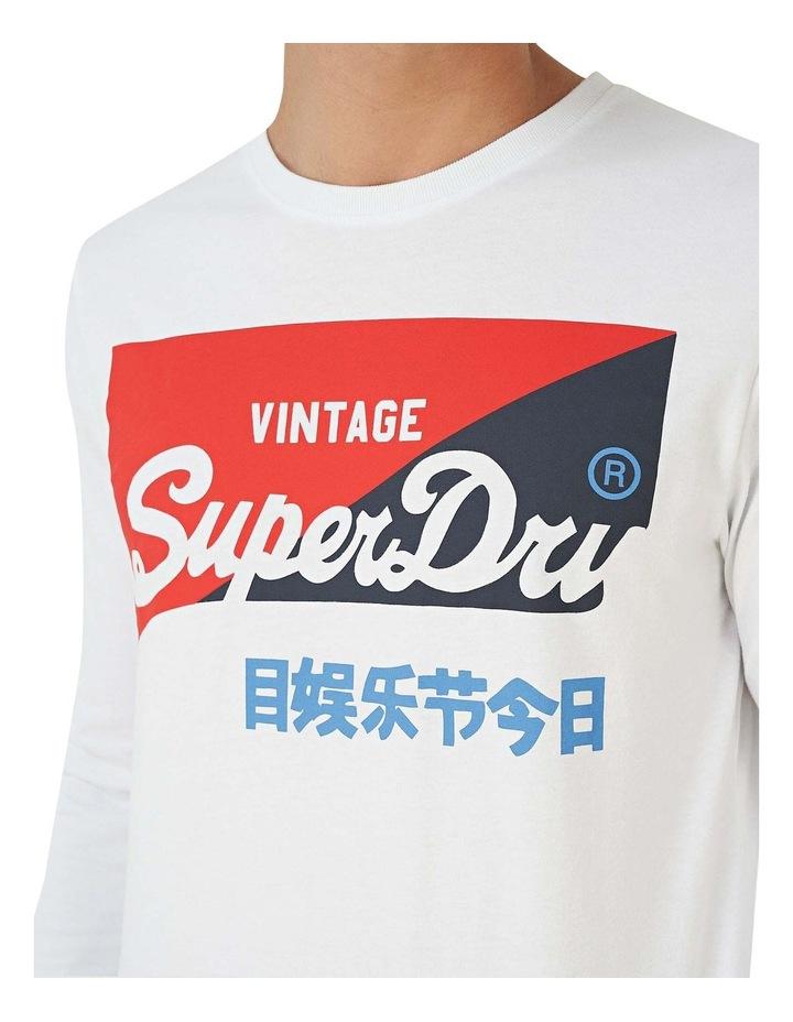 Vintage Logo Organic Long Sleeve Top image 5