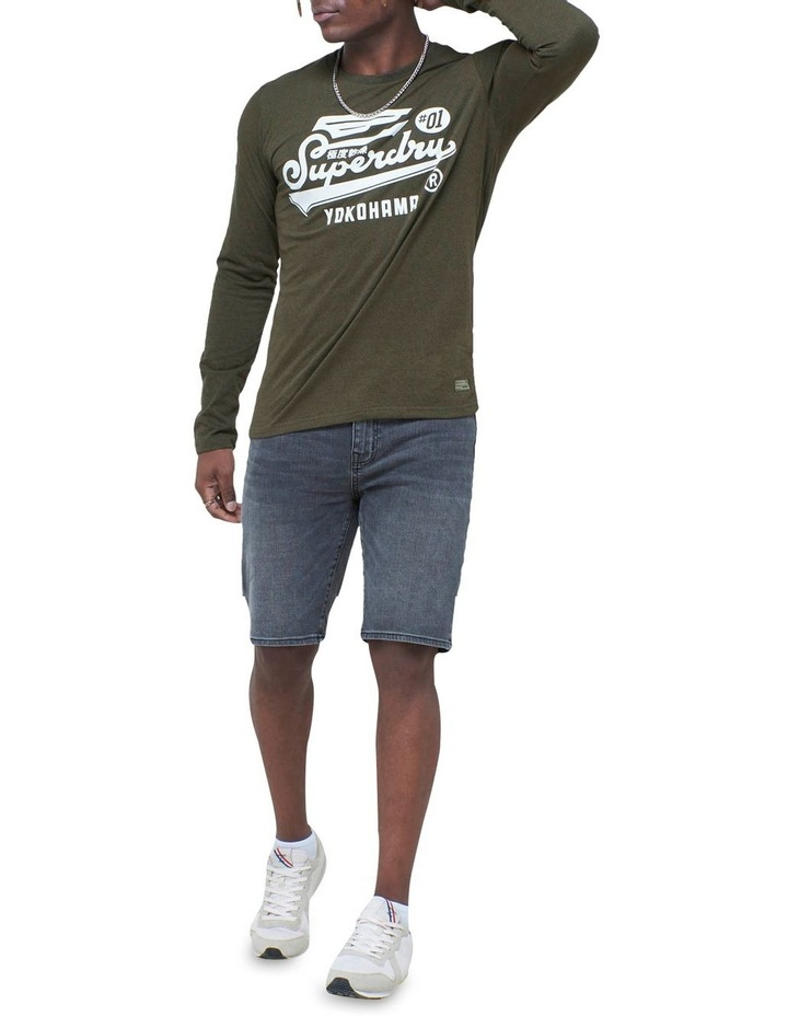 Military Long Sleeve Graphic Top image 2