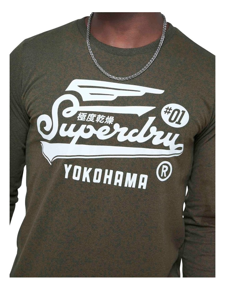 Military Long Sleeve Graphic Top image 5