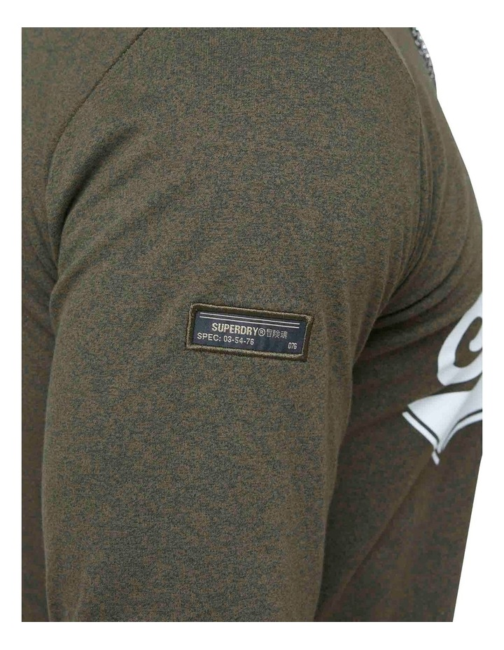 Military Long Sleeve Graphic Top image 6