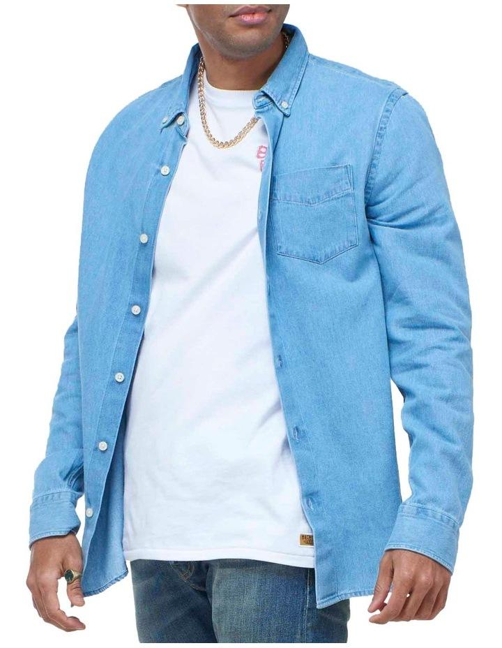 Classic Denim Button Down Shirt image 1