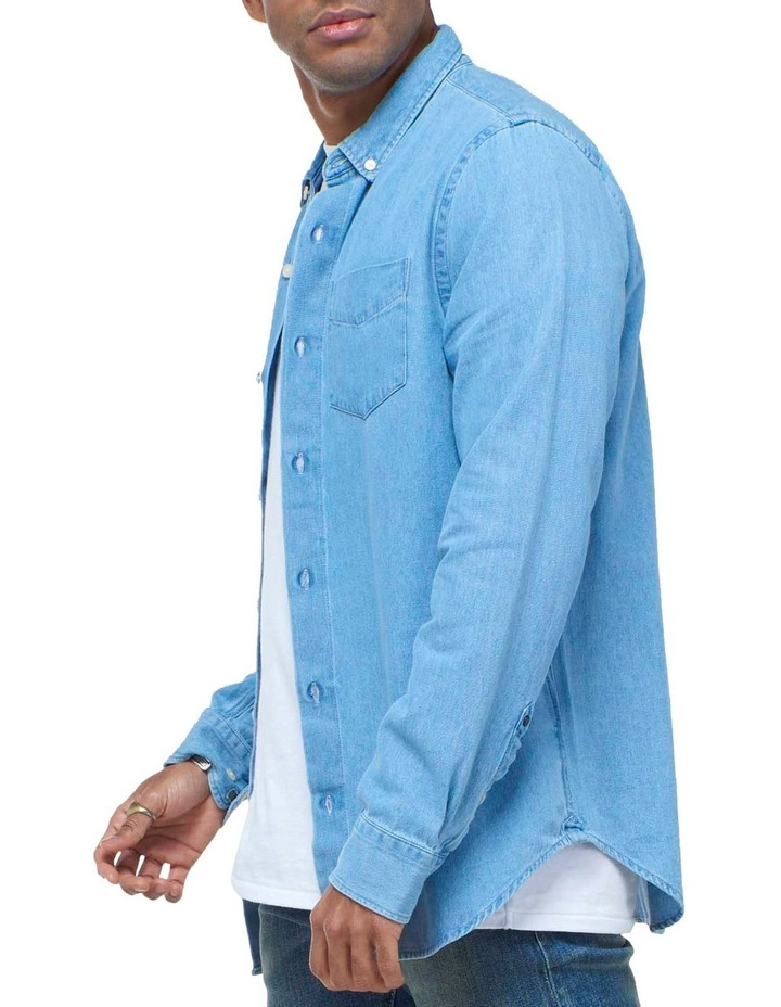 Classic Denim Button Down Shirt image 3