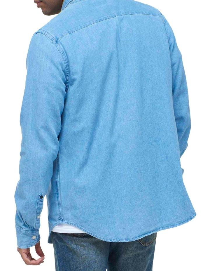Classic Denim Button Down Shirt image 4