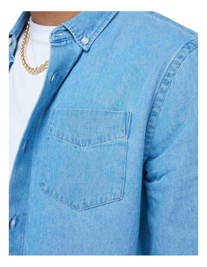 Classic Denim Button Down Shirt image 5